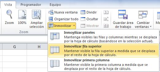 Como Inmovilizar Paneles En Excel Siempre Excel